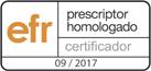 EFR prescriptor homologado