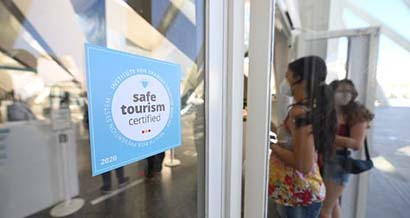 Certificación Safe Tourism – Museo de las Ciencias y Hemesfèric de Valencia