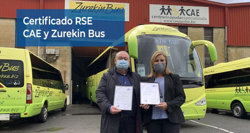 Certificación de Responsabilidad Social Corporativa para CAE y Zurekin Bus